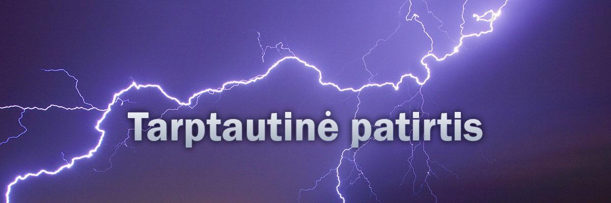 TARPTAUTINĖ PATIRTIS